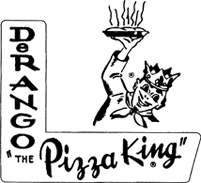 DeRango The Pizza King Logo