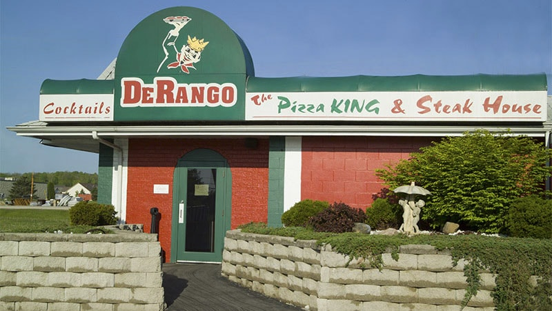 DeRango - The Pizza King and Steakhouse Building
